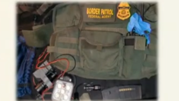 border patrol agent arrest mexico