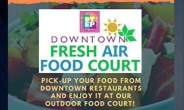 fresh air food court