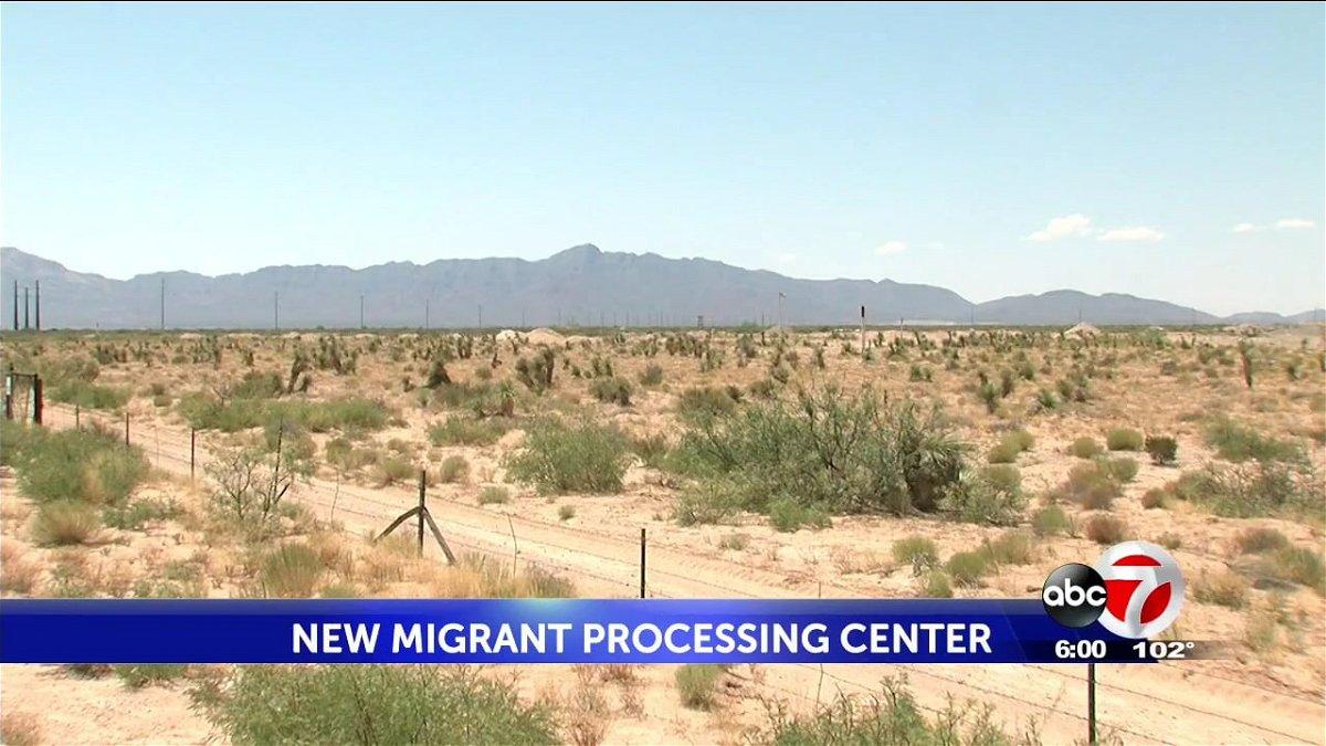 new-migrant-center-building site