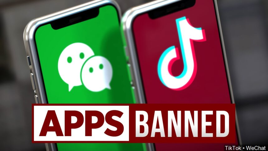 we chat tik tok ban