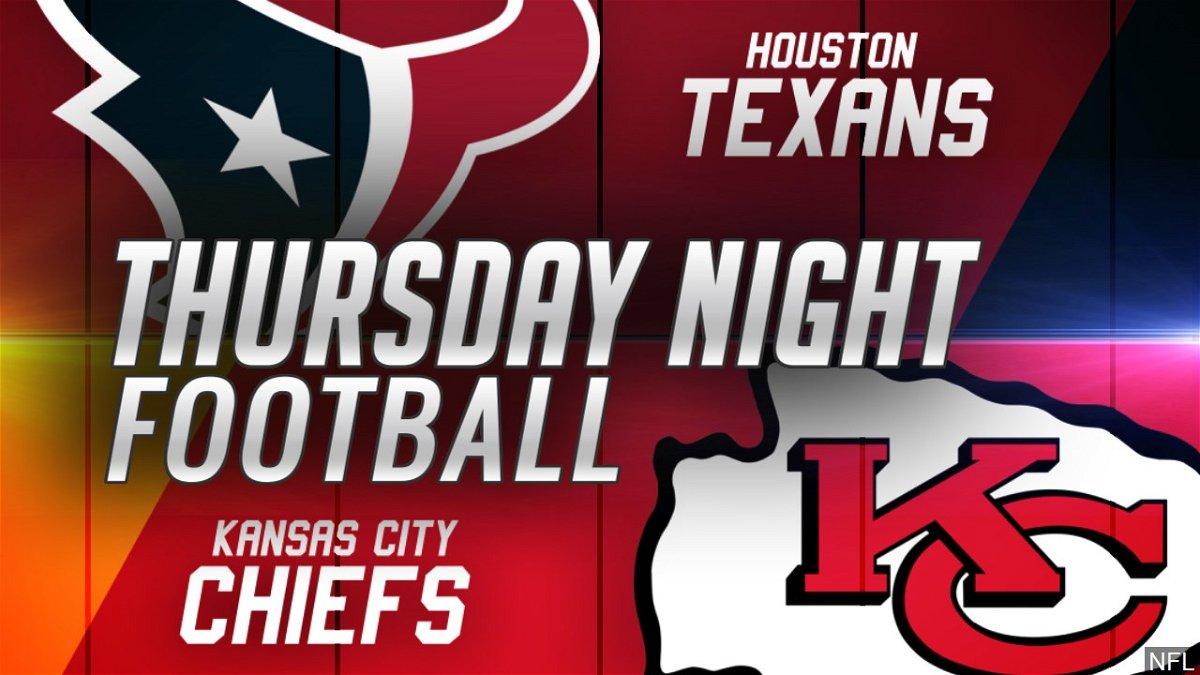 chiefs texans thursday night football