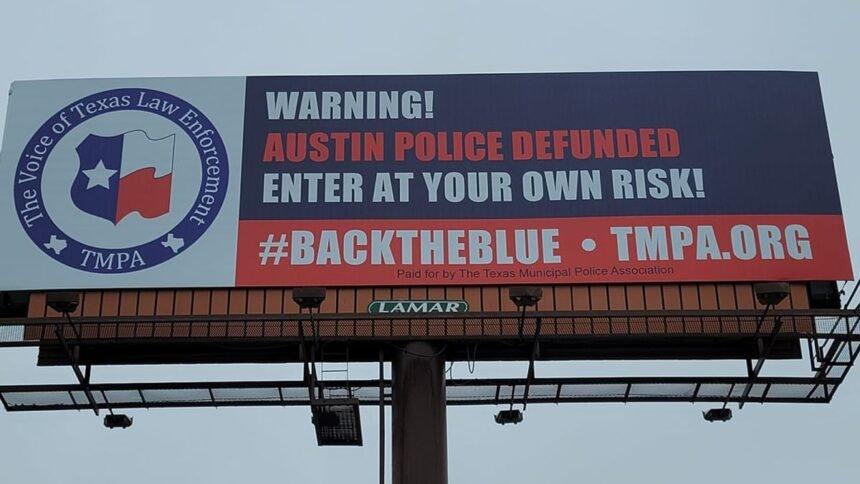 Warring Texas billboards target liberals, bigotry in
