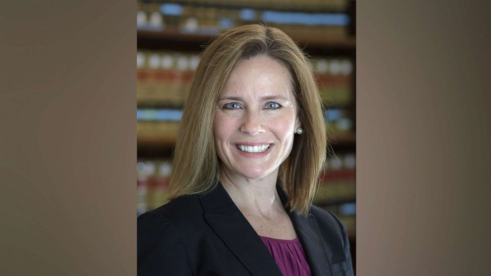 Trump says top court pick 'most likely' a woman to be named next week; Amy Coney Barrett is favored - KVIA