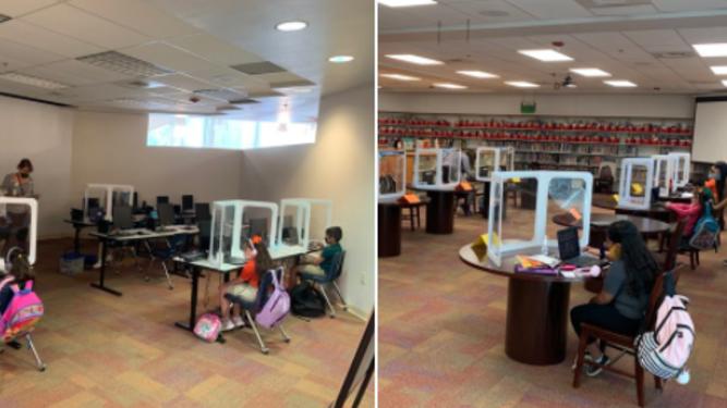 inside SISD classrooms