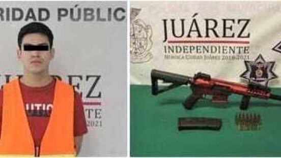 el paso teen juarez gun arrest