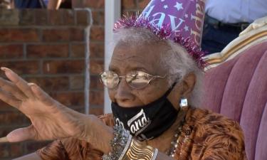 el paso grandma turns 100