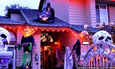Halloween home decoration