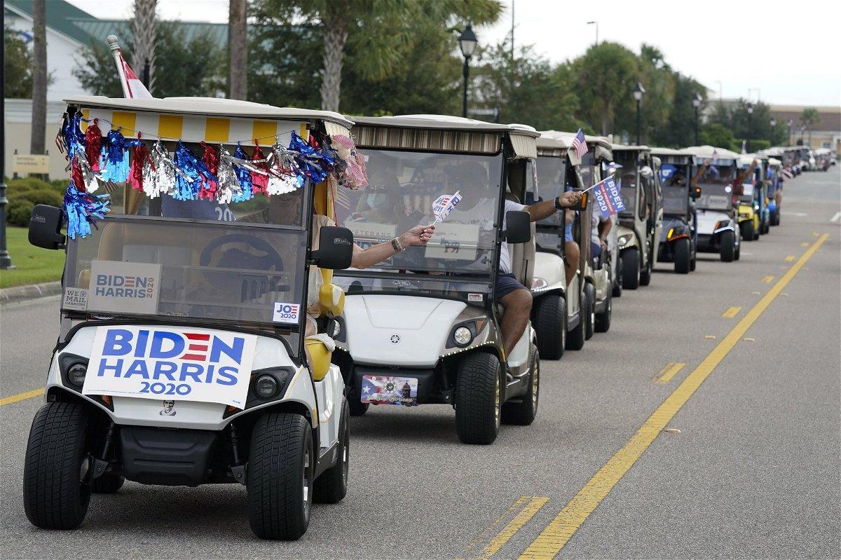 biden-golf-cart-parade