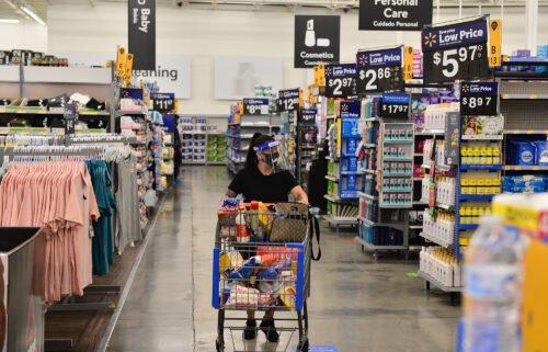 walmart pandemic shopping