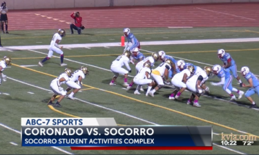 Coronado Socorro high school football