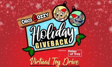 Chico and Ozzy Holiday Giveback