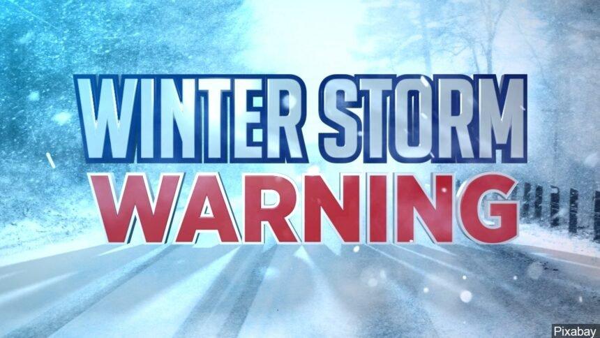 winter storm warning