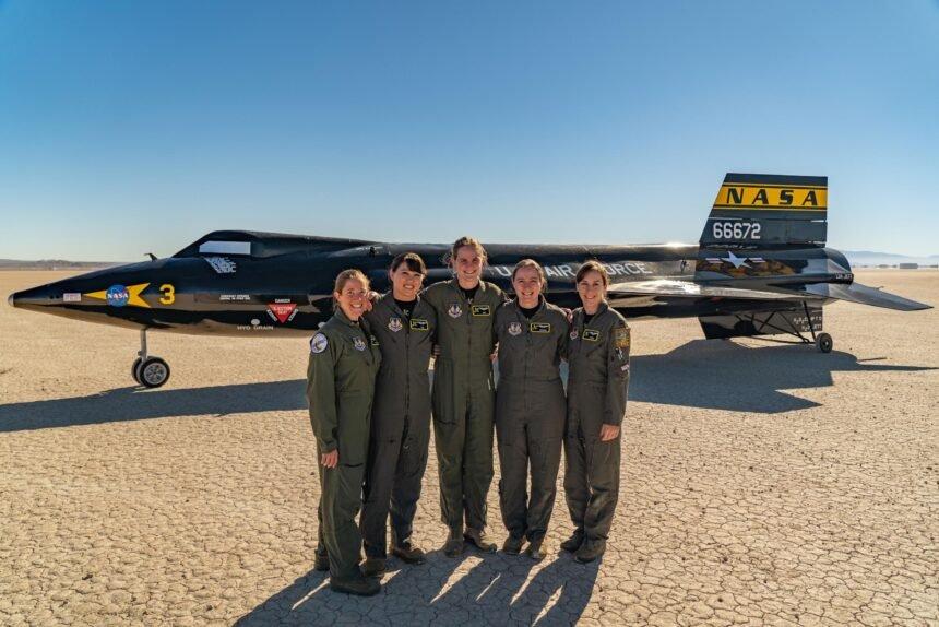 women test pilots