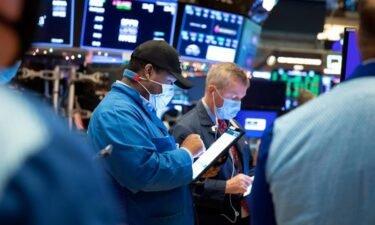 wall street stock traders