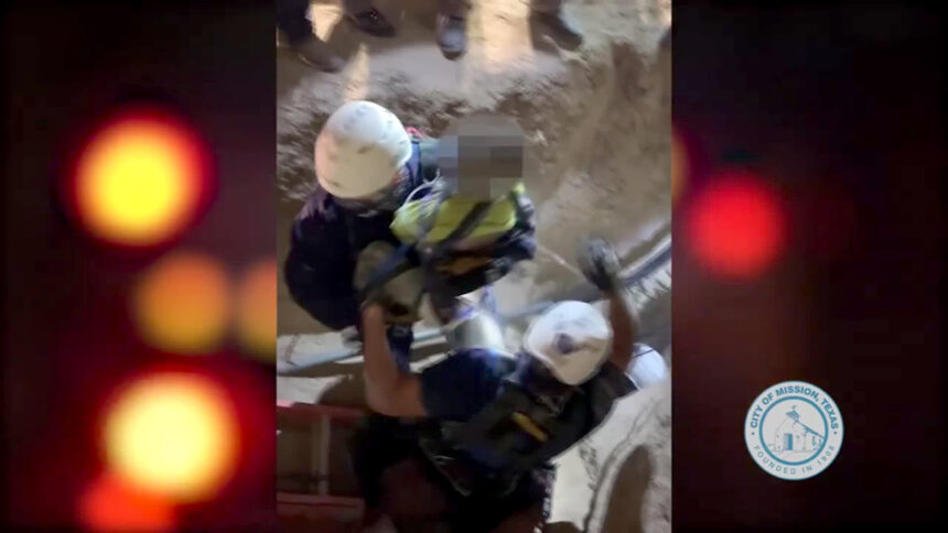 Texas well rescue
