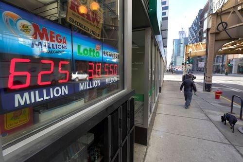 mega millions jackpot sign