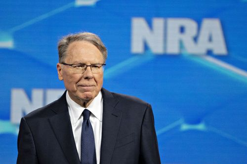 Wayne LaPierre, Executive Vice President and Chief Executive Officer of the NRA.