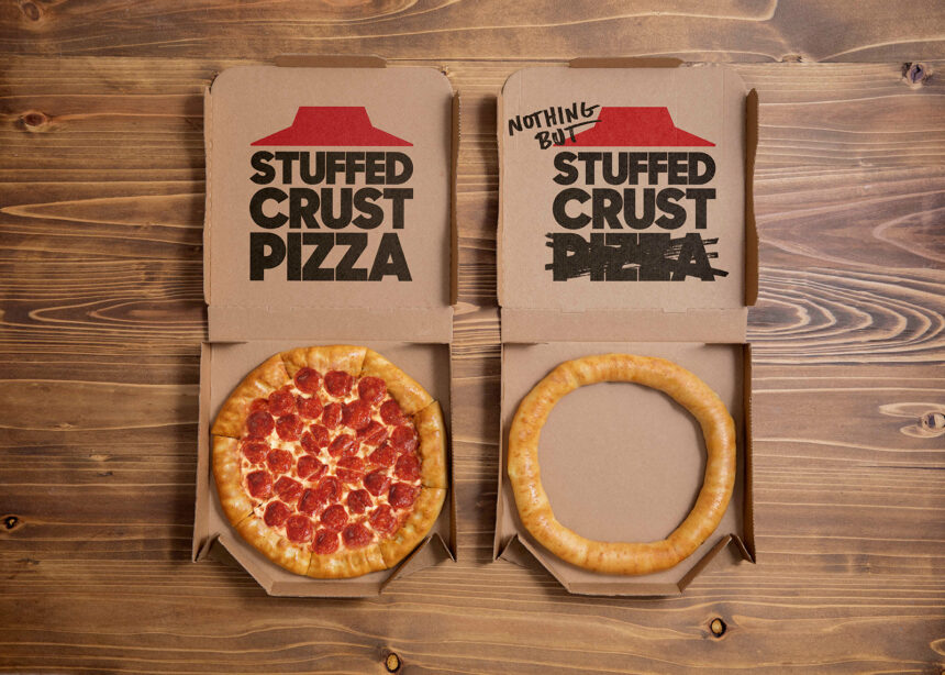 pizza hut stuffed crust