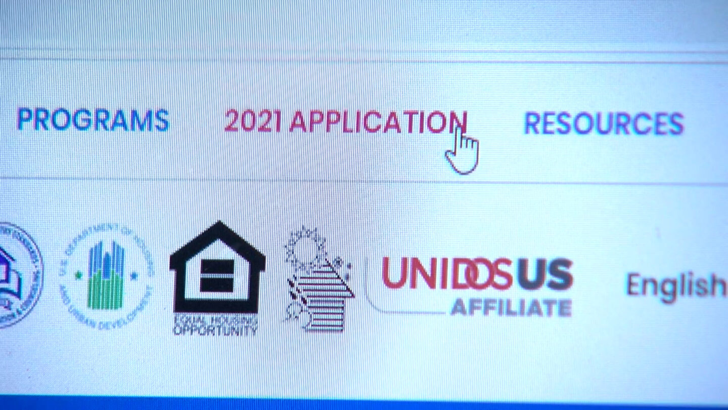 An online rental assistance application.