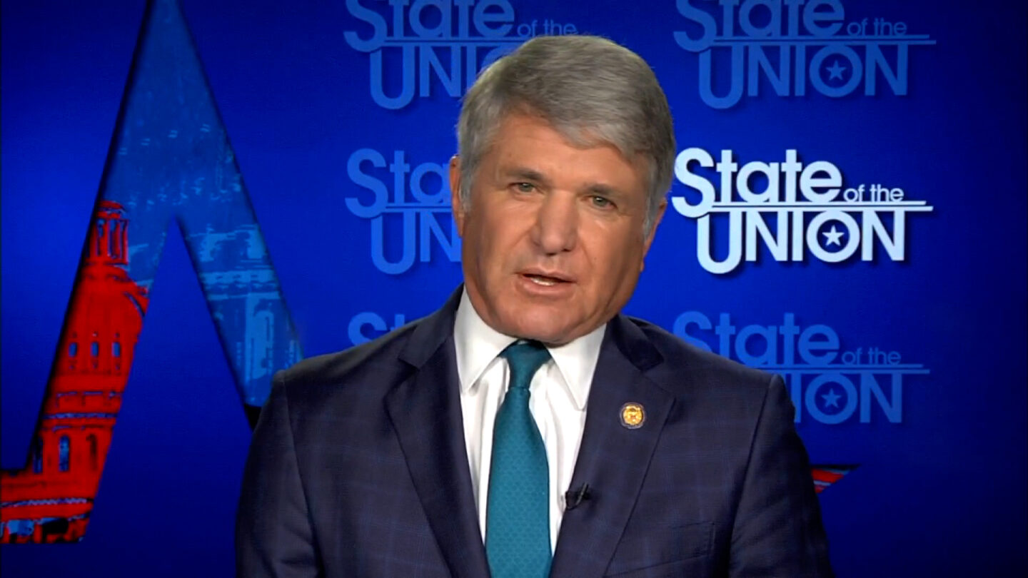 Texas GOP Congressman Michael McCaul.