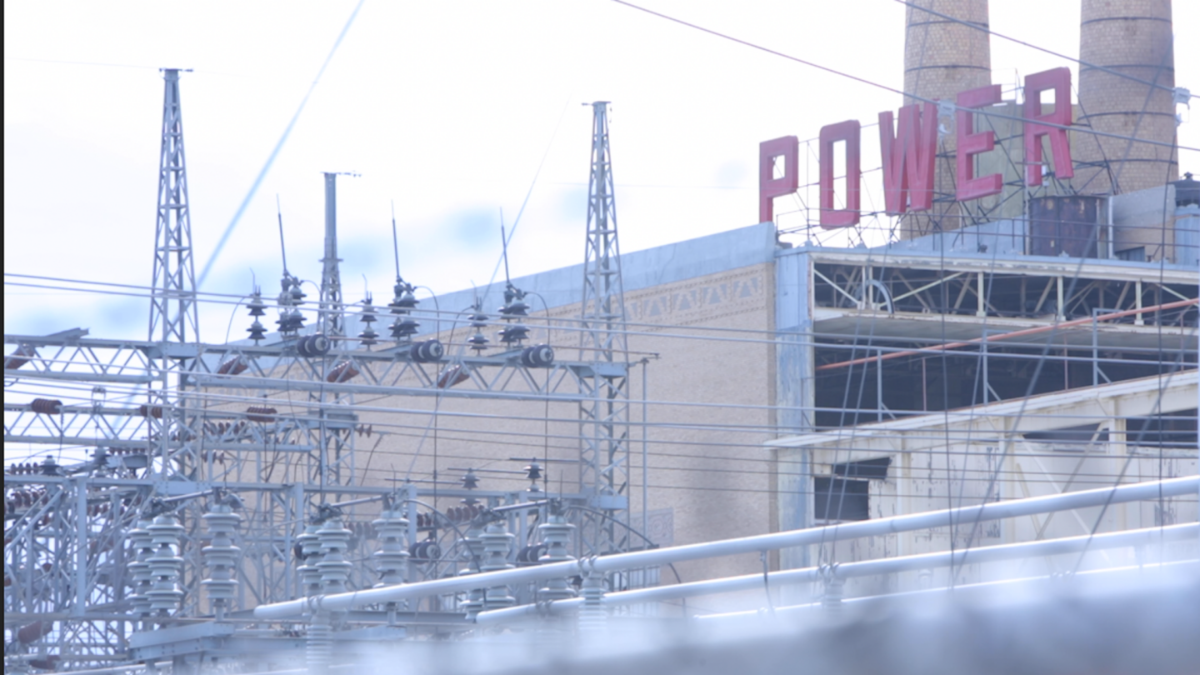 An El Paso Electric power plant facility.