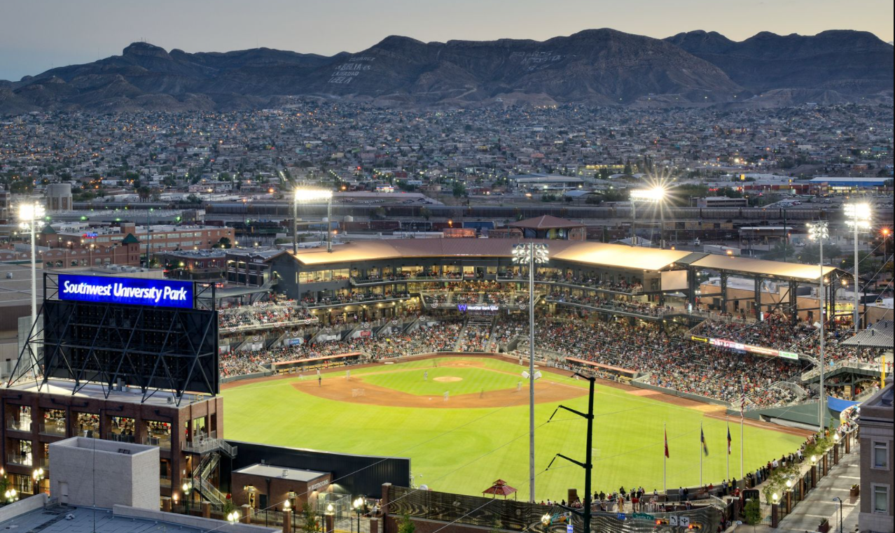 The home of the El Paso Chihuahuas is their downtown ballpark: Southwest University Park.