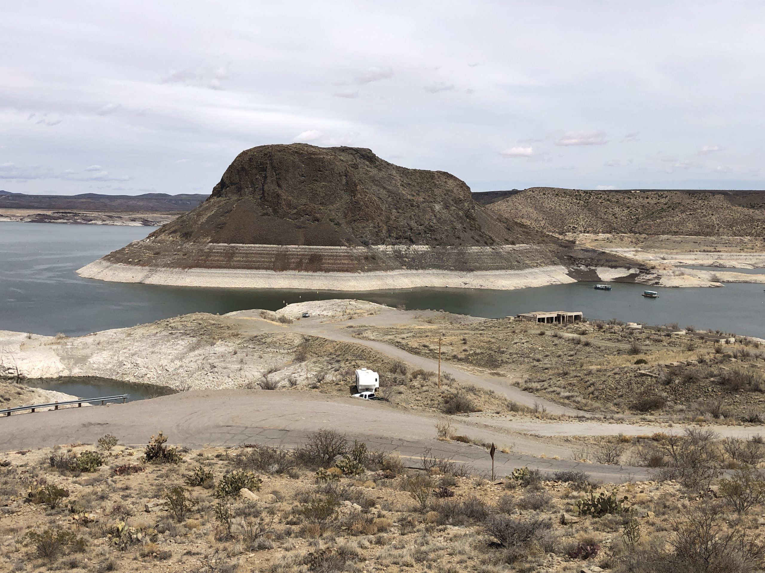 Elephant Butte Reservoir in New Mexico