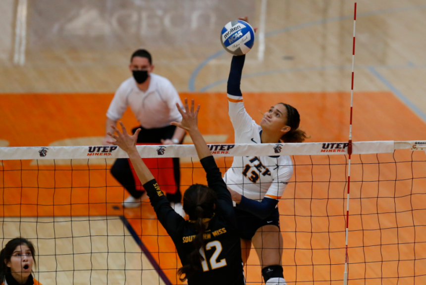 UTEP VOLLEYBALL WINS SOUTH MISS