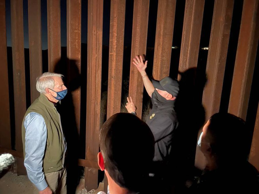 U.S. Sen. Rob Portman of Ohio tours the border in El Paso.