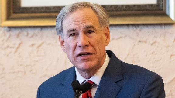 Texas Gov. Greg Abbott as he announced the lifting of the mask mandate.