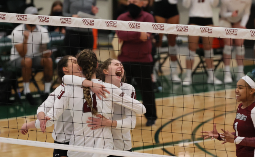 NMSU VOLLEYBALL WINS WAC TOURNEY