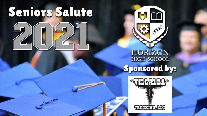 Senior Salute 2021 - Horizon High School