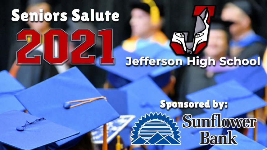 Senior Salute 2021 - Jefferson High School 2