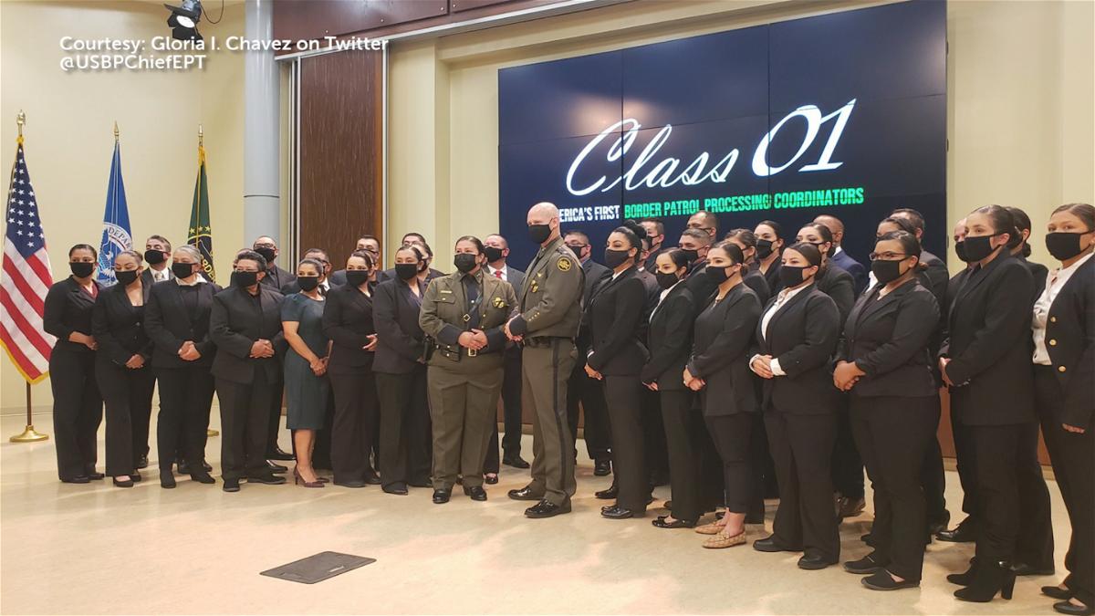 19 graduates from the Border Patrol's