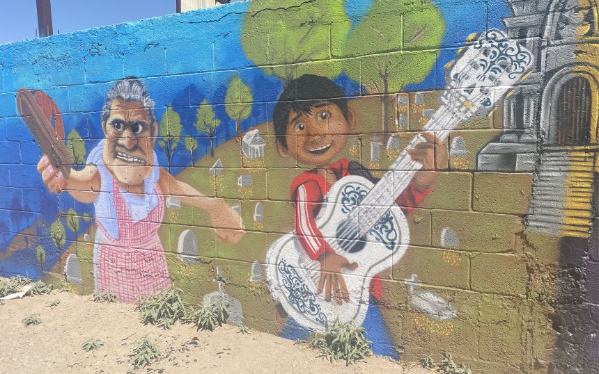 Lower Valley Mural 'Coco'