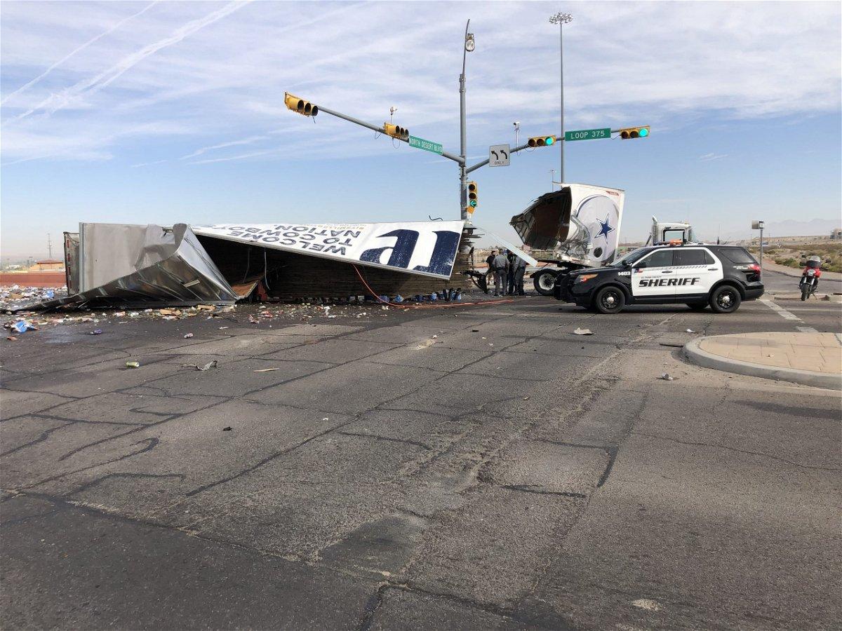Caught on video: Runaway cement mixer had brake failure that led to deadly crash into semi-trailer on Transmountain Road – KVIA