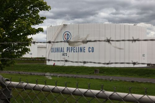 A Colonial Pipeline facility.