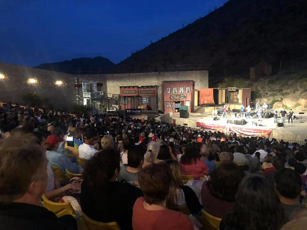 A Cool Canyon Nights concert on the main stage at McKelligon Canyon Amphitheater.