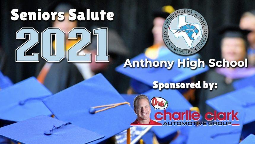 Senior Salute 2021 - Anthony High School
