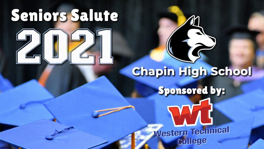Senior Salute 2021 - Chapin High School