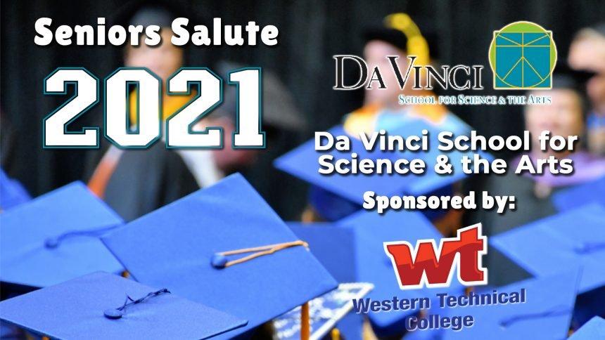 Senior Salute 2021 - Da Vinci School For Science And The Arts