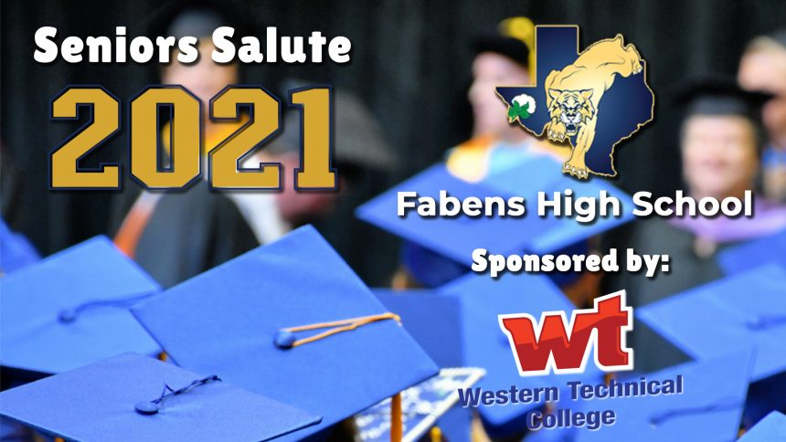 Senior Salute 2021 - Fabens High School