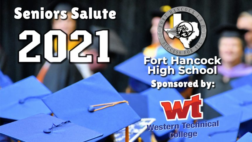 Senior Salute 2021 - Fort Hancock High School