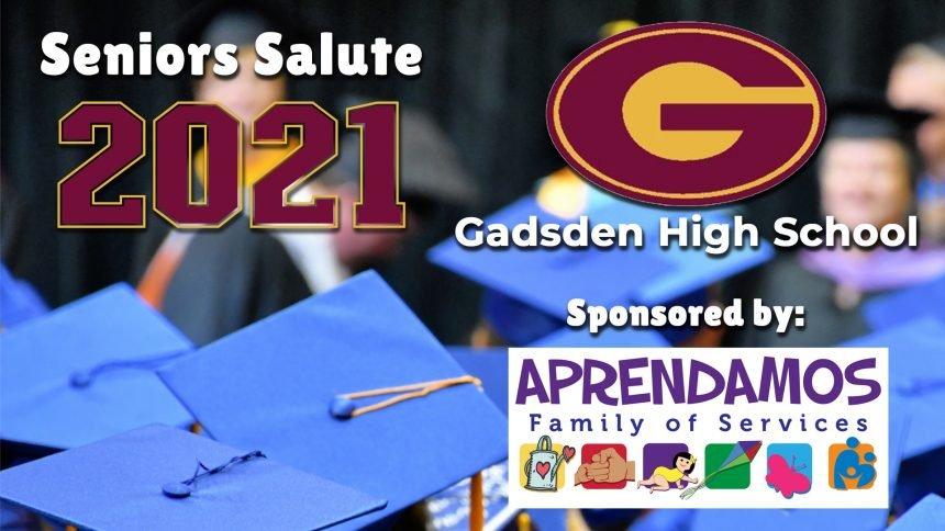 Senior Salute 2021 - Gadsden High School