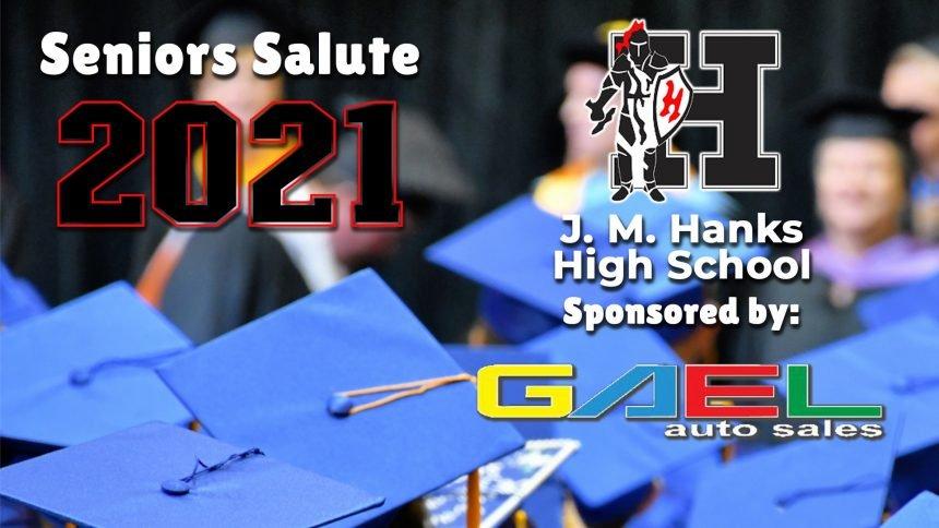 Senior Salute 2021 - Hanks High School