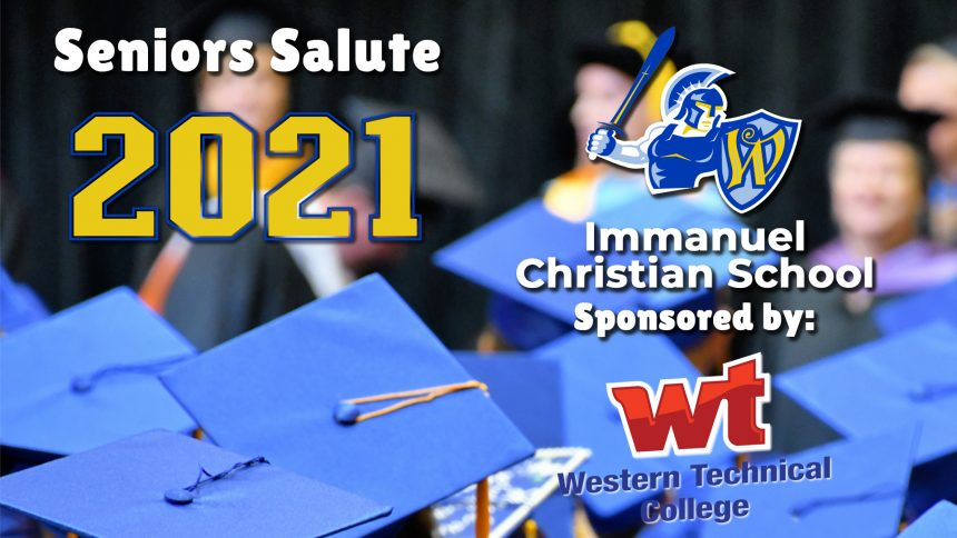 Senior Salute 2021 - Immanuel Christian School