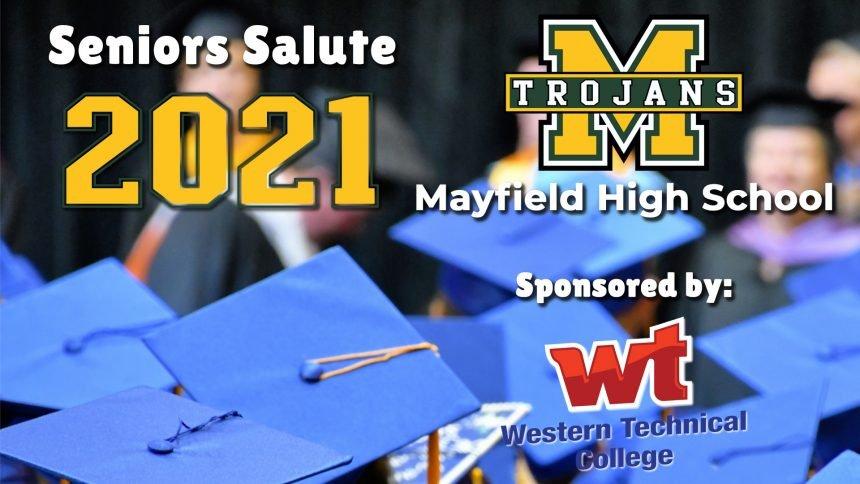 Senior Salute 2021 - Mayfield High School
