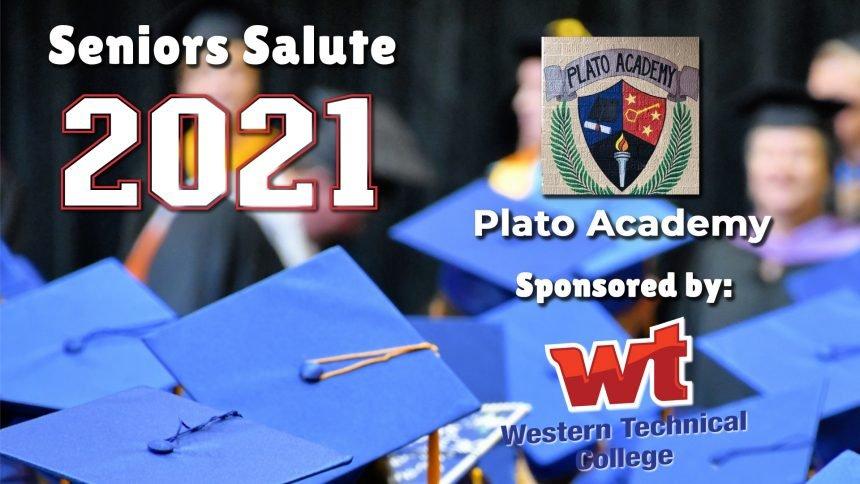 Senior Salute 2021 - Plato Academy