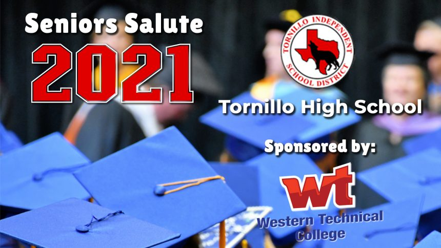Senior Salute 2021 - Tornillo High School