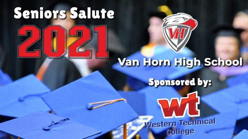 Senior Salute 2021 - Van Horn High School